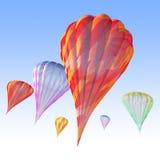 air varma ballonger Royaltyfri Bild