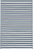 Air vent. Louvered air vent made of aluminium Royalty Free Stock Photography