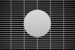 Air vent, air grill Royalty Free Stock Image