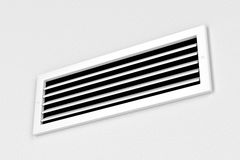 Air vent. On the wall Royalty Free Stock Photos
