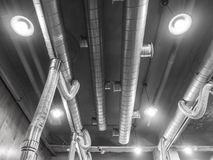 Air Ventilating tube Royalty Free Stock Images