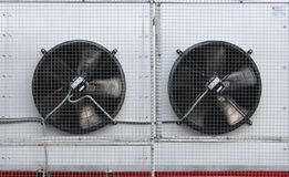 Air ventilation systems on the wall Stock Image