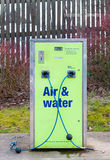 Air and water refilling at service station Stock Photo