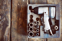 Air wrench Royalty Free Stock Images