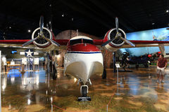 Air Zoo, Kalamazoo, Michigan. Kalamazoo, MI, USA – June 23, 2016: Grumman G-73 on display at the Air Zoo Museum in Kalamazoo, Michigan royalty free stock photo