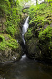 Aira force, The Lake District. Shot of the Aira Force Waterfall within The Lake District, Cumbria Royalty Free Stock Photos