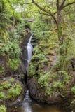 Aira Force. Aira Force Waterfall, near Ullswater in English Lake District, Cumbria, England, Uk Royalty Free Stock Photo