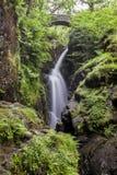 Aira Force. Aira Force Waterfall, near Ullswater in English Lake District, Cumbria, England, Uk Stock Photo