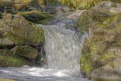 Aira styrkavattenfall royaltyfria bilder