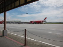 AirAsia aeroplane Stock Photography