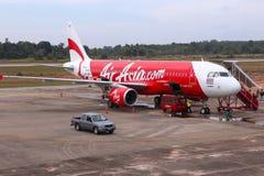 AirAsia Airbus Image stock