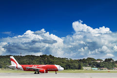 AirAsia Airbus A320-200 Royalty Free Stock Images