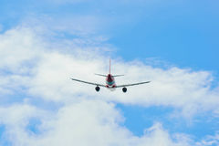 AirAsia Airbus A320 take-off Royalty Free Stock Image