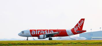 AirAsia aircraft Stock Photos