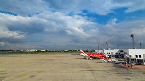 AirAsia in Bangkok, Thailand Royalty Free Stock Image