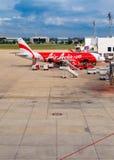 AirAsia in Bangkok, Thailand Royalty Free Stock Photography