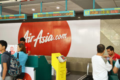 AirAsia Check In Stock Photos