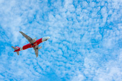 AirAsia plane takes off Stock Image