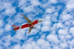 AirAsia plane takes off Stock Image