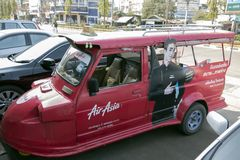 Airasia Taxi. Stock Photo