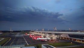 AirAsia - World' s Beste Goedkope Luchtvaartlijn royalty-vrije stock fotografie