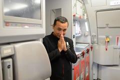 Airasia załoga członek Obrazy Stock