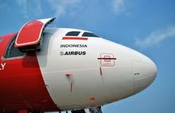 airasiaflygbuss Arkivbild