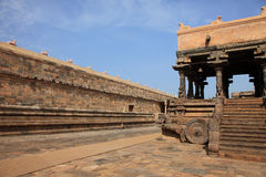 Airavatesvara Temple in Darasuram Royalty Free Stock Image