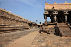 Airavatesvara Temple in Darasuram Stock Images
