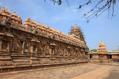 Airavatesvara Temple in Darasuram Royalty Free Stock Photography