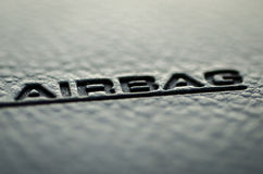 airbag Images libres de droits
