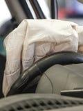 Airbag aberto Imagem de Stock