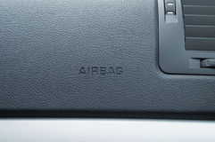 Airbag caption Royalty Free Stock Photography