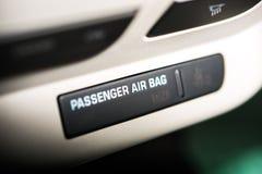 Airbag do automóvel de passageiros Imagens de Stock Royalty Free