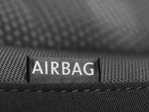 Airbag label Royalty Free Stock Photo