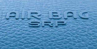 Airbag label Stock Image