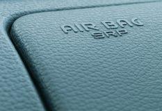 Airbag label Stock Photos