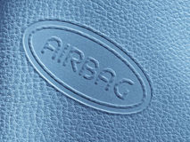 Airbag label Royalty Free Stock Photos