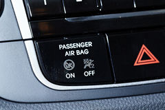 Airbag panel Royalty Free Stock Photos