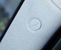 Airbag panel stock image