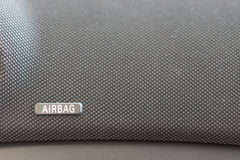 Airbag panel on car's dashboard Royalty Free Stock Images