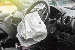 Airbag praca zdjęcia royalty free