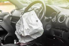 Airbag praca fotografia royalty free
