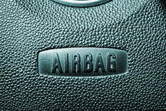 Airbag safety Royalty Free Stock Images