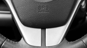 Airbag sign Royalty Free Stock Image