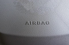 Airbag Sign Royalty Free Stock Photo