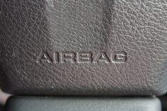Airbag sign Stock Photos