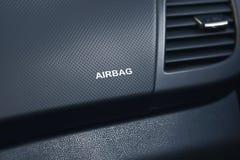 Airbag w samochodzie zdjęcia royalty free