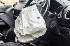 Airbag work Royalty Free Stock Image
