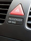 airbagpassagerareströmbrytare Royaltyfria Bilder